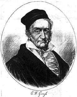 Fisicanet Biografía De Gauss Carl Friedrich Bi661