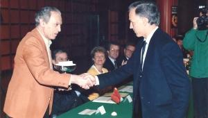 Entrega del premio IFIA Salón Mundial de Invenciones, Ginebra 1992