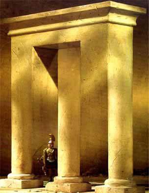¿Cuántas columnas hay? ¿son circulares o rectangulares?