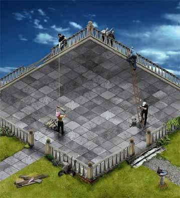 ¿Terraza o pátio?