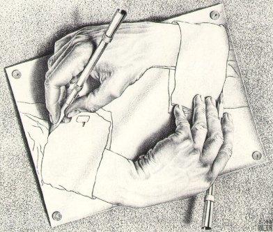 Manos Dibujando - 1.948