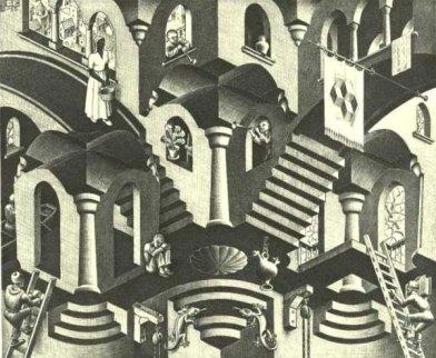 Cóncavo y Convexo - 1955