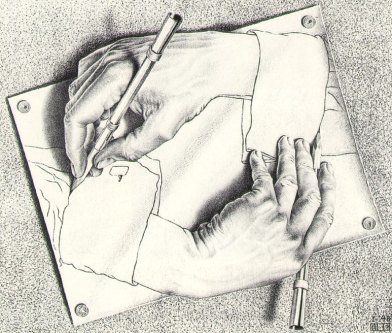 Manos Dibujando - 1948